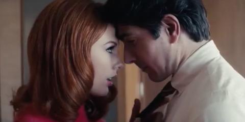 Romance, Love, Kiss, Interaction, Forehead, Lip, Scene, Nose, Cheek, Mouth,