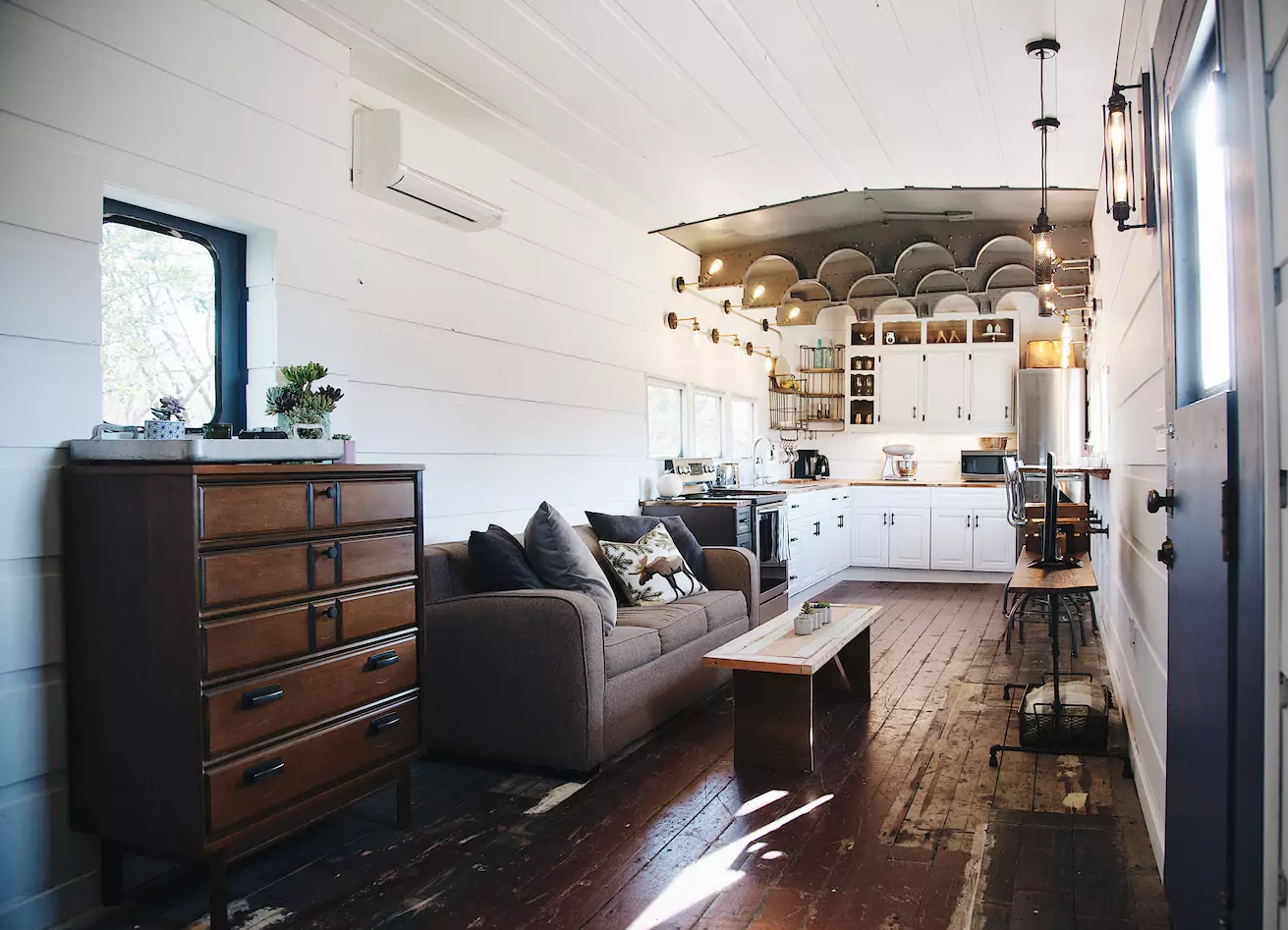 Marvelous Converted Train Car