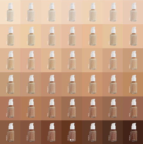 Makeup Brands With 40 Shades