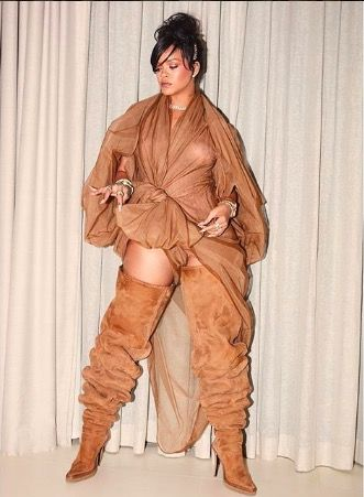 Rihanna personal style y/project ugg boots