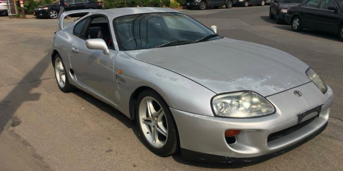This Cheap Jdm Supra Could Be The Restoration Opportunity Of Your Dreams