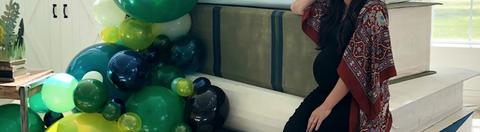 Balloon, Green, Party supply, Fun, Toy, Ball, Party,