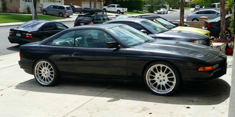 This Cheap 850i Is the Manual V12 Grand Touring Project You