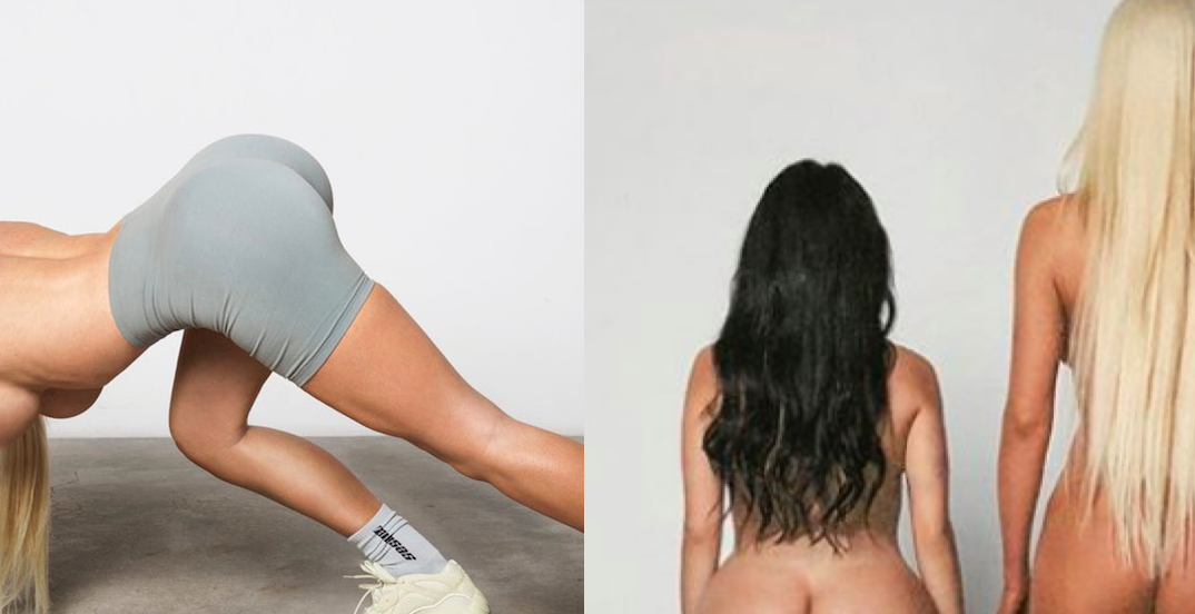 the best attitude 56c1f 0d7b8 Kanye West New Yeezy Desert Rat Campaign with Nude Kim ...