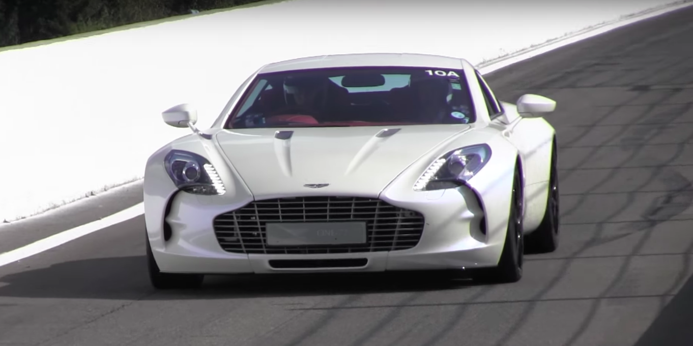 The One 77 Might Be The Best Sounding Aston Martin Road Car