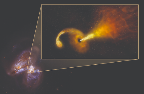 Scientists Witness Aftermath of a Black Hole Destroying a Star