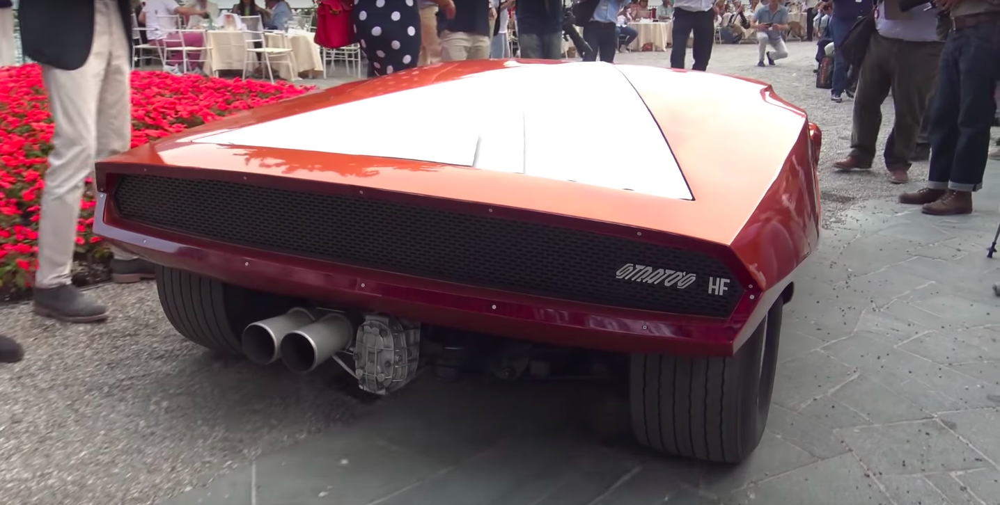 The Lancia Stratos Zero Sounds Just as Crazy as It Looks