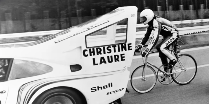 A Porsche 935 Was Once Used For A Bicycle Speed Record Attempt