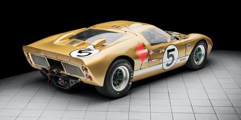 Land vehicle, Vehicle, Car, Sports car, Race car, Coupé, Ford gt40, Supercar, Classic car, Ford,
