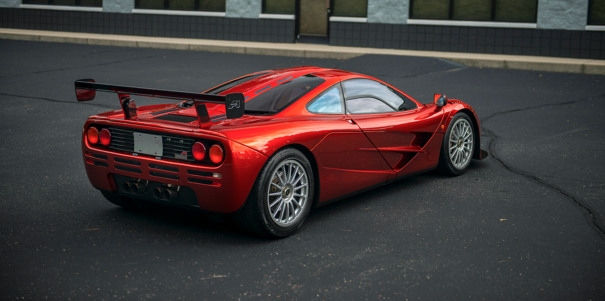 this mclaren f1 is even more special than it looks