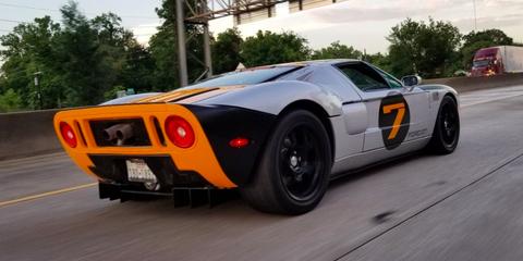Land vehicle, Vehicle, Car, Sports car, Supercar, Race car, Coupé, Ford gt40, Automotive design, Ford gt,