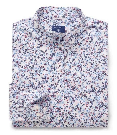 Clothing, Sleeve, Shirt, Collar, Blouse, Pattern, Dress shirt, Outerwear, T-shirt, Top,