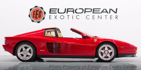 Land vehicle, Vehicle, Car, Supercar, Sports car, Ferrari testarossa, Coupé, Race car, Automotive design, Ferrari tr,