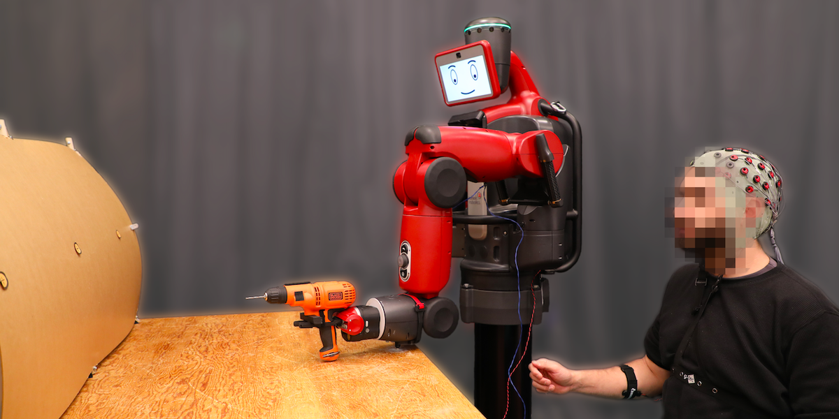 Humans Can Now Correct Robots With Their Thoughts