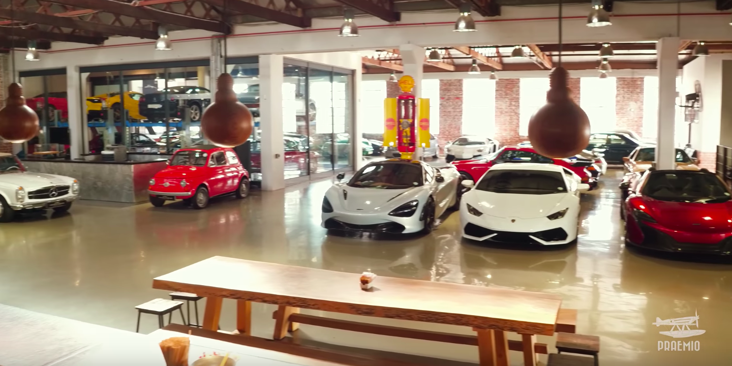 This Warehouse in South Africa Hides a Heaven for Gearheads