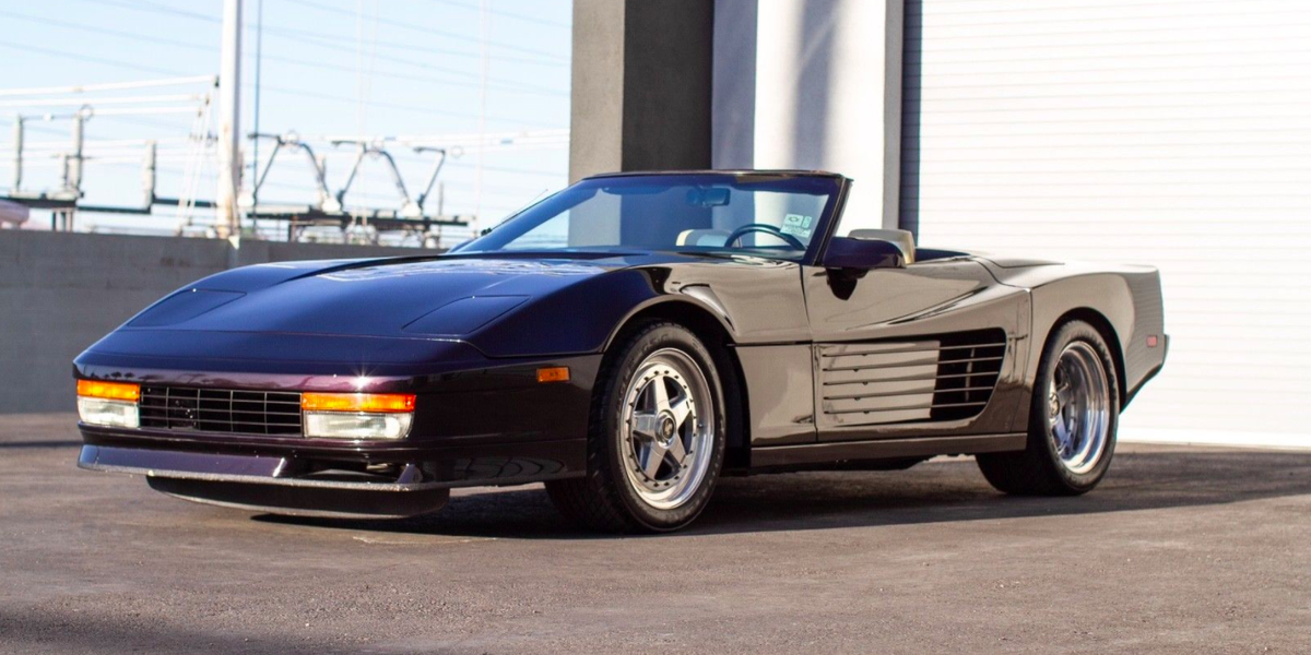 This Testarossa-fied C4 Corvette Is Actually Pretty Great