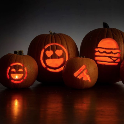 Jack-o'-lantern, Calabaza, Orange, Pumpkin, trick-or-treat, Carving, Fruit, Vegetable, Lighting, Winter squash,