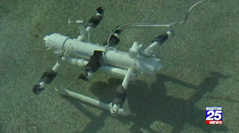 microplastic detecting robot 12 year old