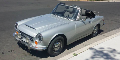 This Datsun Roadster Is Your Ticket to Vintage Summer Fun