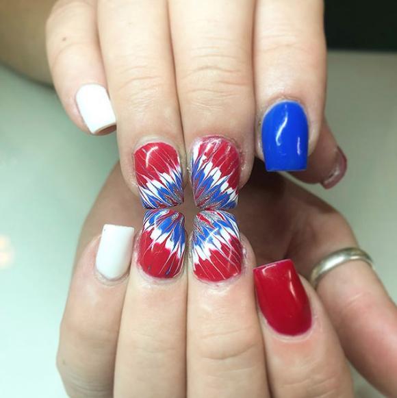 15 4th of July Nail Designs , 4th of July Nail Art