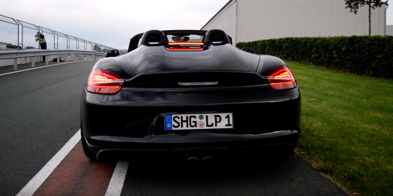 The 911 Isn't the Only Porsche That Can Make a Great Flat-Six Noise