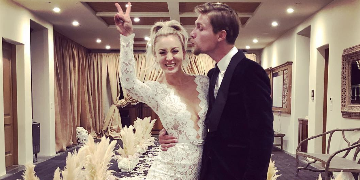 Kaley Cuoco Marries Karl Cook In Horse Ranch Wedding Second Husband