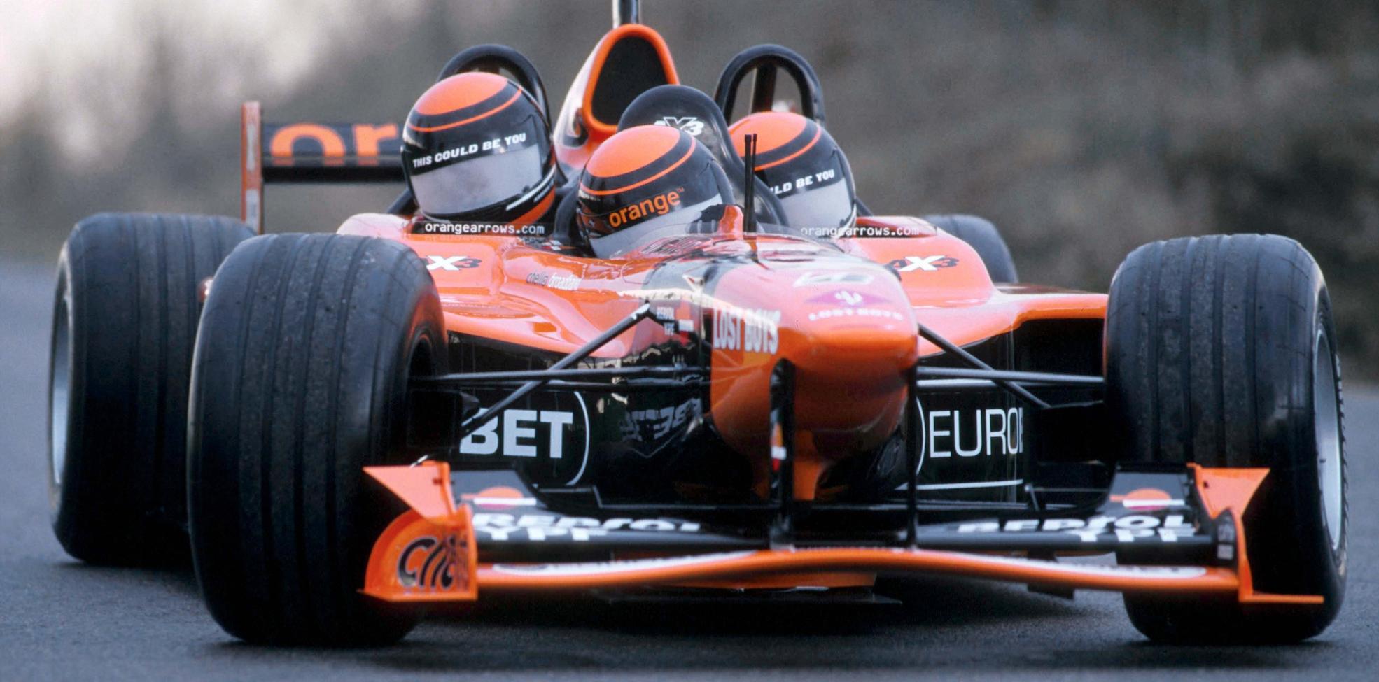 Buy This Three Seater Formula 1 Car