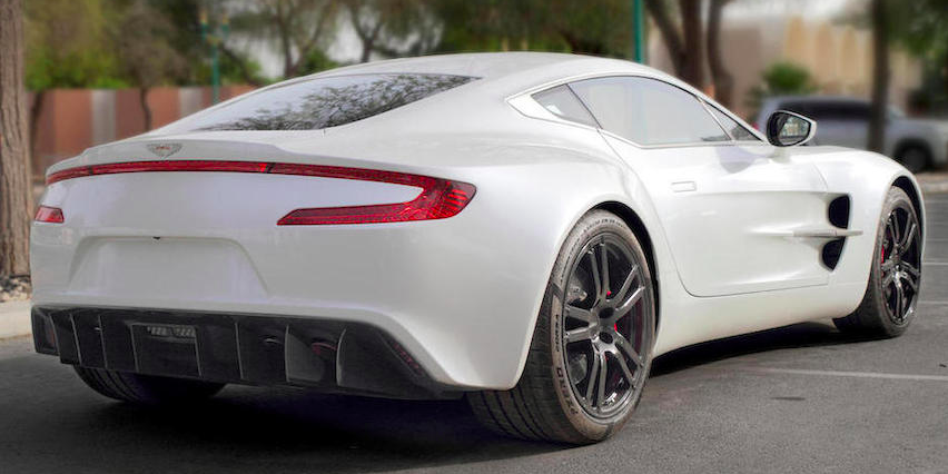 Here S Your Chance To Own An Aston Martin One 77