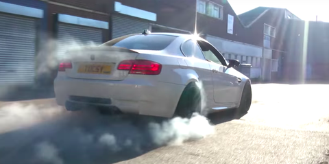 This M3 Has the 650-HP Heart From a Corvette Z06