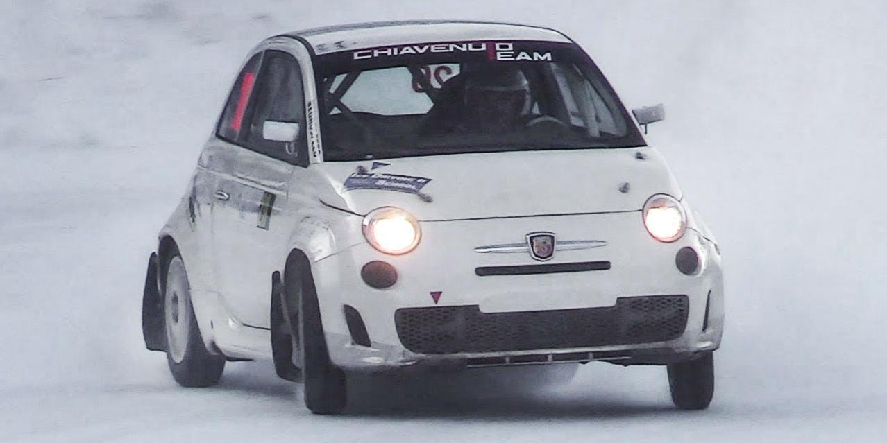这款AWD菲亚特500是最可爱的小冰上赛车口袋火箭