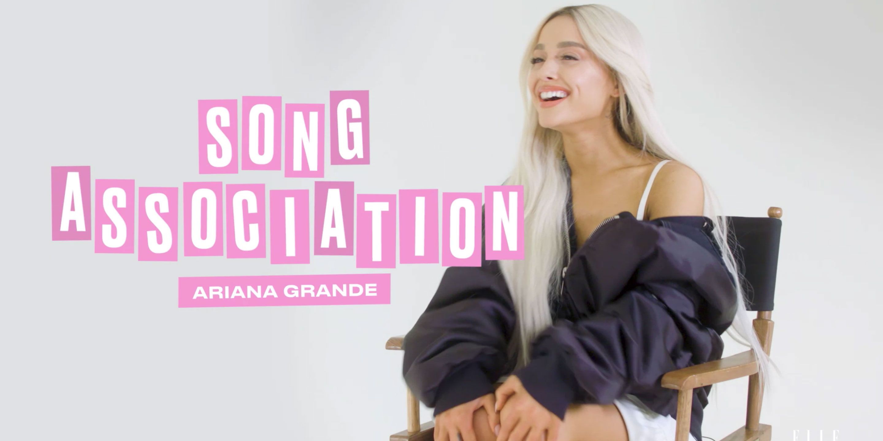 Exclusive: Ariana Grande Sings New 'Sweetener' Song in ELLE's Song Association
