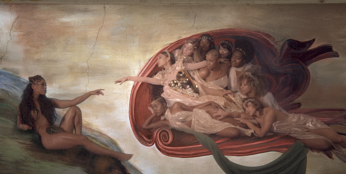 Ariana Grande Drops God Is A Woman Music Video  God Is A Woman Mv With Madonna-7040