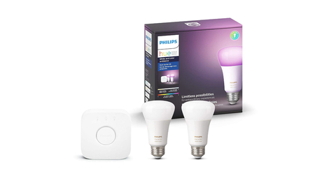 This Philips Hue Starter Pack Is $50 Off Right Now