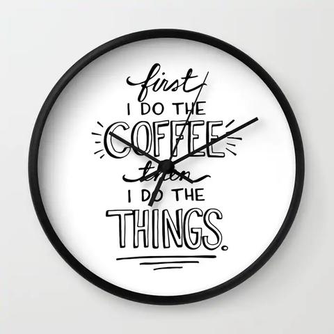 Clock, Wall clock, Font, Home accessories, Furniture, Logo, Illustration, Interior design,
