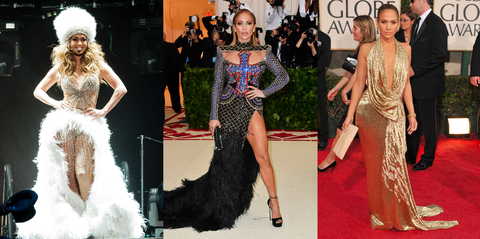 ff6c1c14d8 Jennifer Lopez Style Photos - 25 Best J-Lo Outfits of All Time