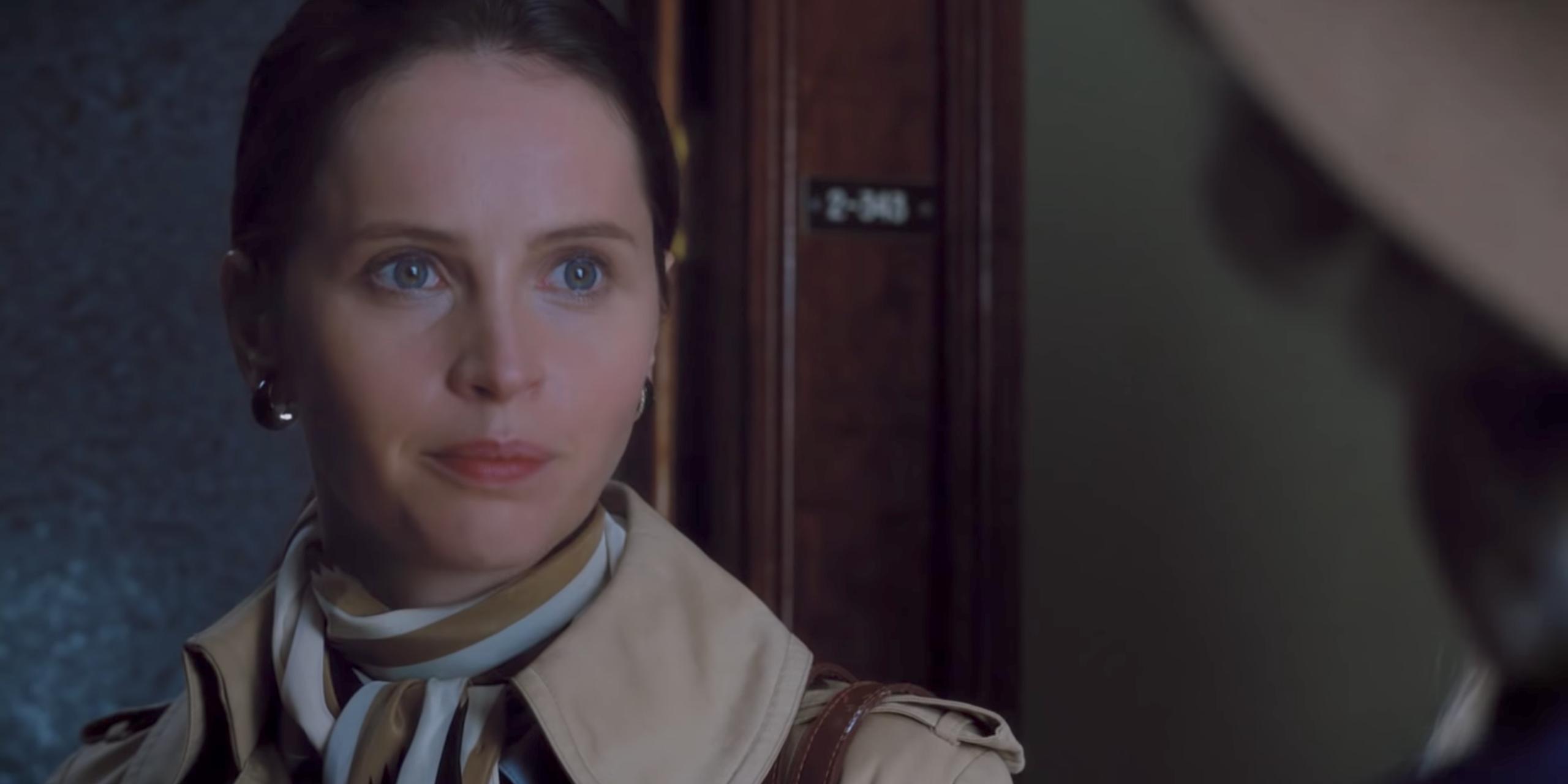 Felicity Jones as Ruth Bader Ginsburg