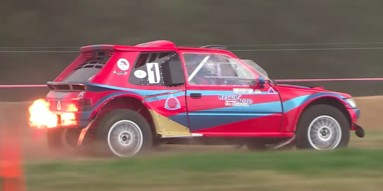 Peugeot Rally Car Makes the Greatest Rotary Sound