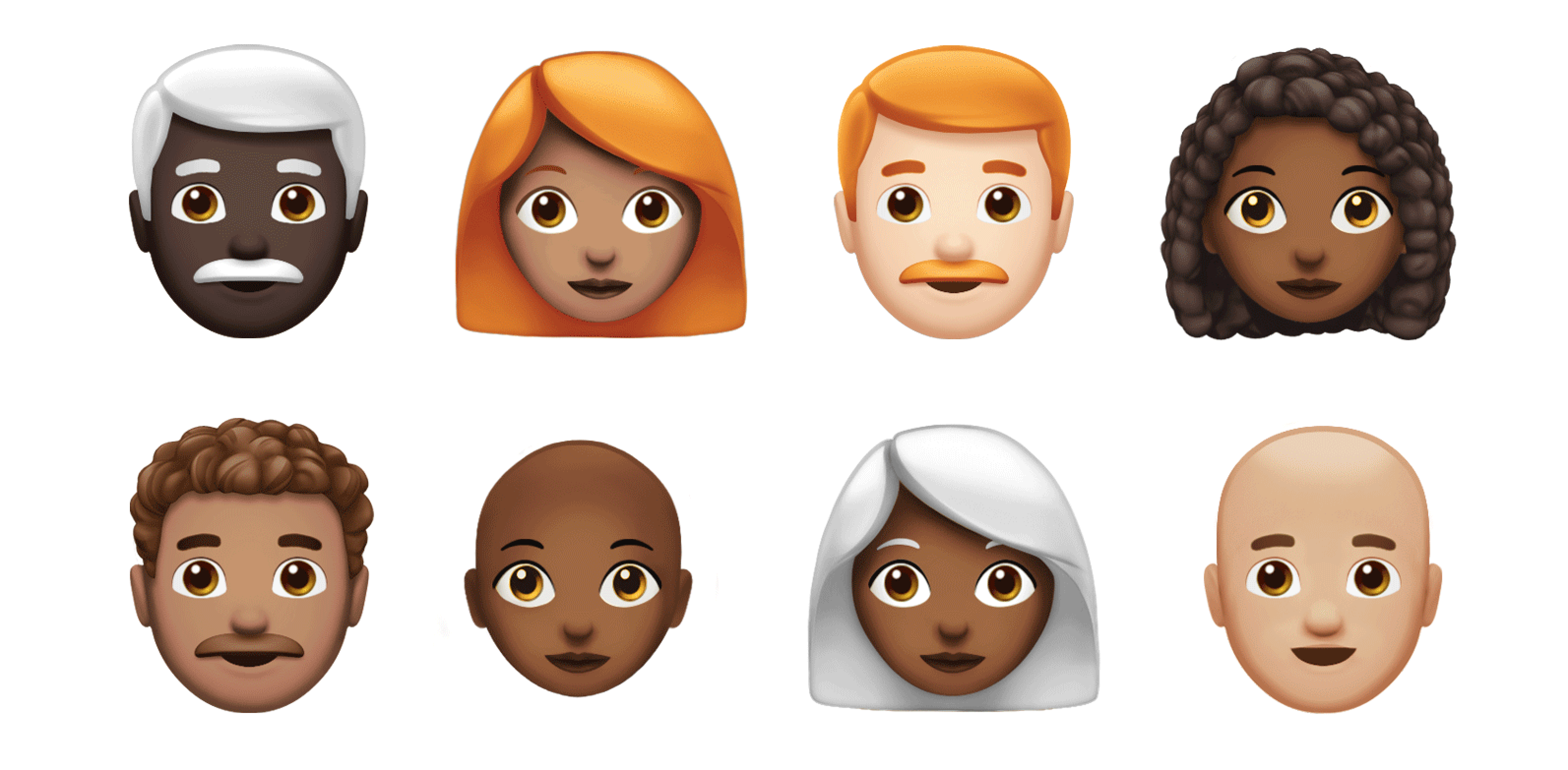 apple releases new emoji for ios 12 see apple s new redhead emojis