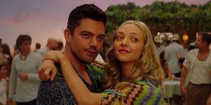 Dominic Cooper and Amanda Seyfriend on kissing in Mamma Mia 2, despite splitting up in real life