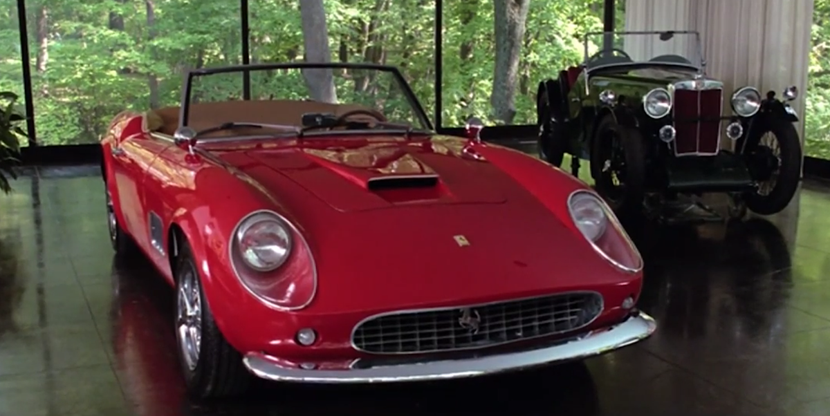 The Ferrari Replica From Ferris Bueller S Day Off Is Heading To Auction