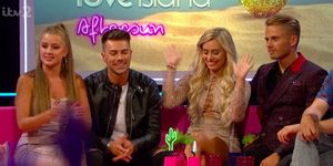 Love Island's Georgia continues feud with Ellie on Aftersun