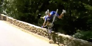 Philippe Gilbert crash