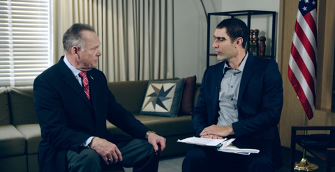 Sacha Baron Cohen Accused Roy Moore of Being a Pedophile to His Face