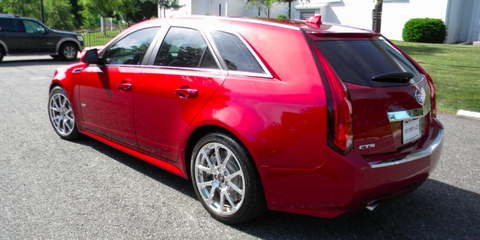 This 362 Mile Cadillac Cts V Wagon Is 85 000