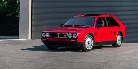 Land vehicle, Vehicle, Car, Regularity rally, Coupé, Classic car, Sports car, Lancia montecarlo, Sedan, Lancia delta s4,