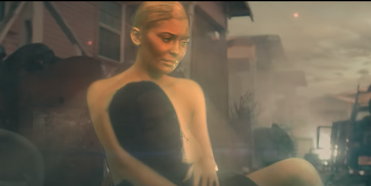 5fefaf62c70c Kylie Jenner Goes Bare and Literally Glows in Travis Scott's New Music Video
