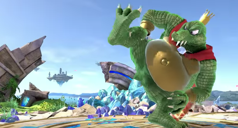 super smash bros ultimate adds king k rool and castlevania s