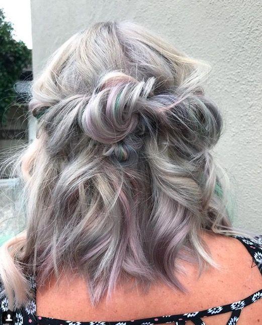 Gem lights hair trend