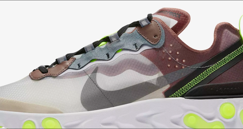 separation shoes c3cfa 48ceb Nike React Element 87 Release- Desert Sand & Smokey Mauve