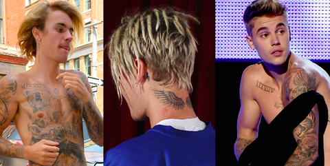 ff8f69c3a56ad Justin Bieber's Tattoos - The Meaning Behind Justin Bieber's Tattoos